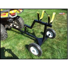 Combination 2-Wheel Cart & Receiver Hitch Calf Carrier Item: #191